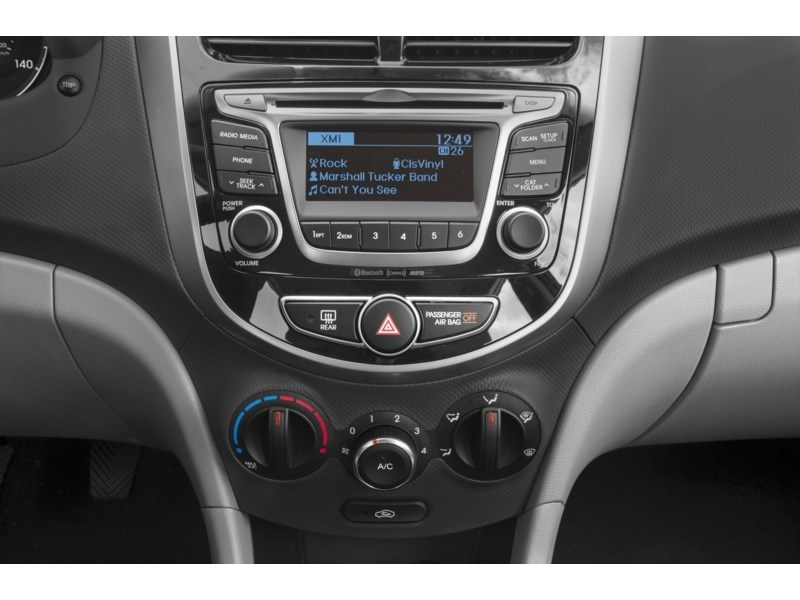2017 Hyundai 2017 ACCENT GLS AT GLS Interior Shot 2