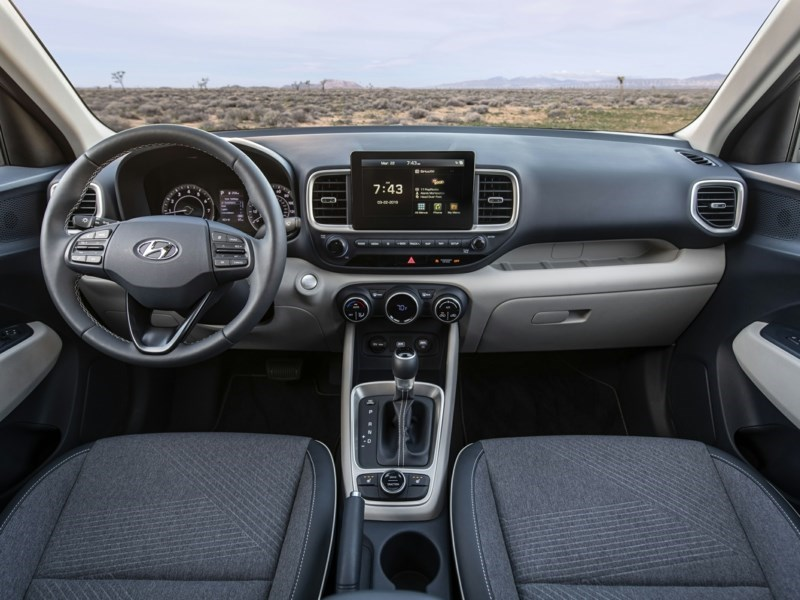 2020 Hyundai Venue Essential OEM Shot 5