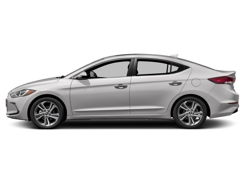 2018 Hyundai Elantra Limited Polar White  Shot 3