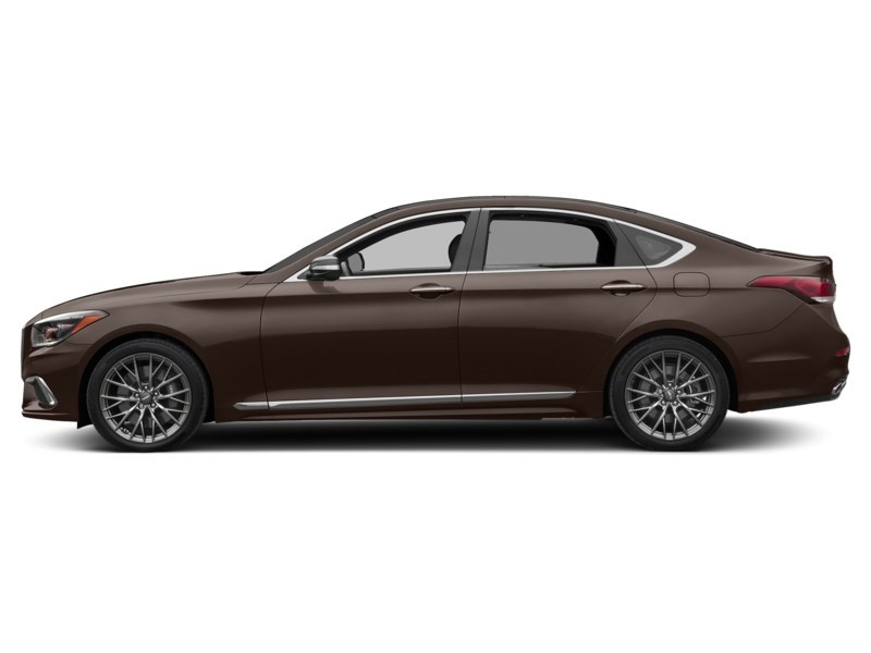 2018 Genesis G80 3.3T Sport Manhattan Brown Mica  Shot 12