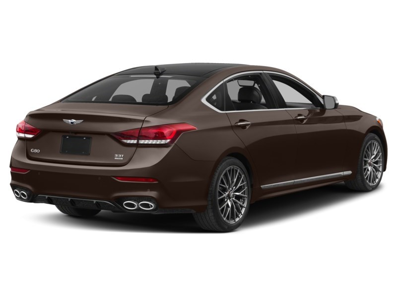2018 Genesis G80 3.3T Sport Manhattan Brown Mica  Shot 11