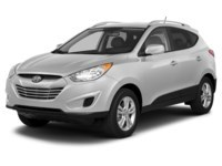 2013 Hyundai Tucson GL Cotton White  Shot 1