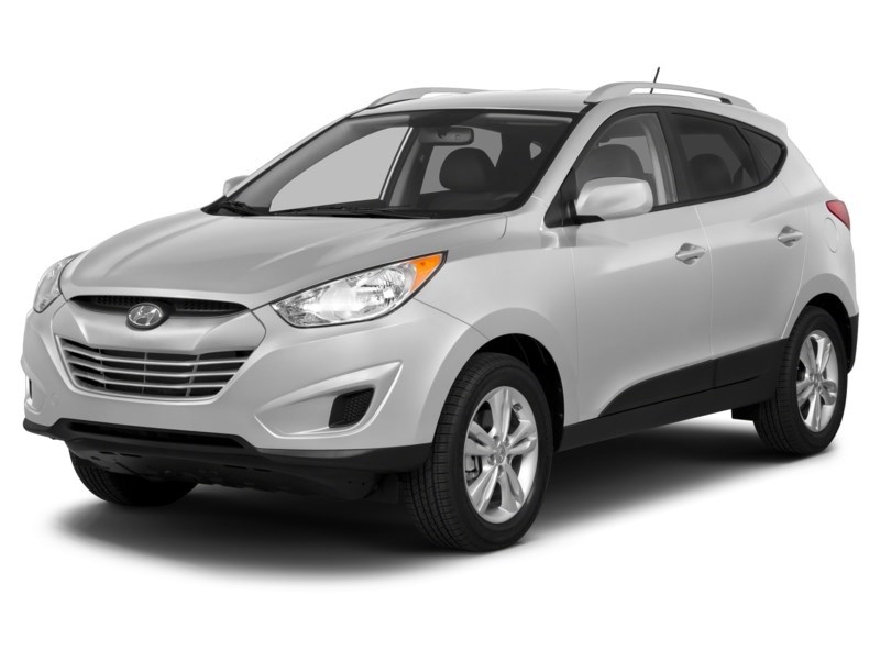 2013 Hyundai Tucson GL Cotton White  Shot 2