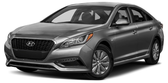 2017 Hyundai Sonata Hybrid Polished Metal Metallic [Grey]