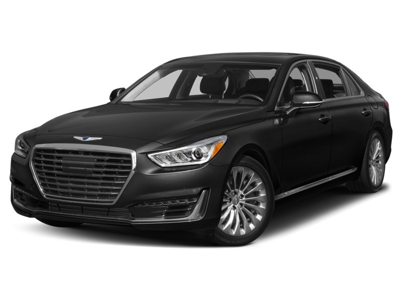 2017 Genesis G90 5.0 Ultimate Caspian Black Mica  Shot 1